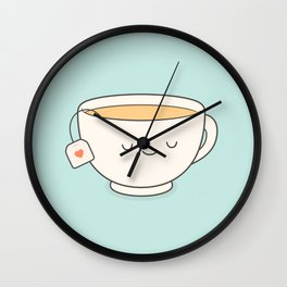 Teacup Wall Clock