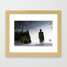 Reflection Of Buddhism No.1 Framed Art Print