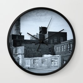 Pepper Distillery Blue Wall Clock
