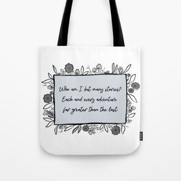 Each and Every Journey Tote Bag