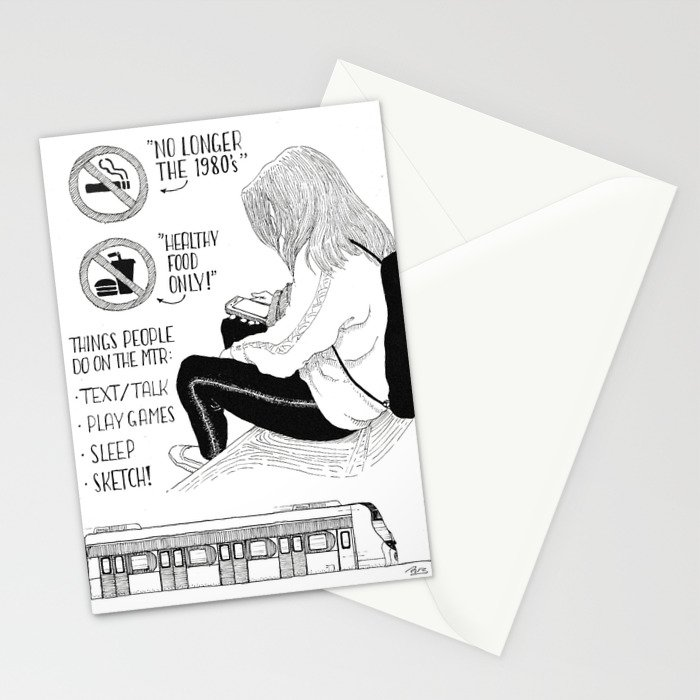 Rules of Public Transport Stationery Cards