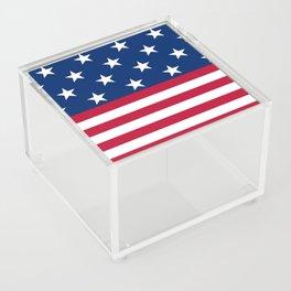 US Flag Acrylic Box