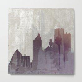 City Soul 1 Metal Print