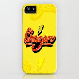 Shazam! iPhone Case