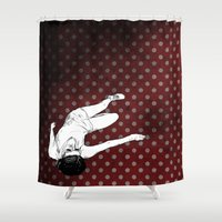 lolita Shower Curtains featuring Lolita by Merwizaur