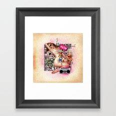 PIN-UP Framed Art Print