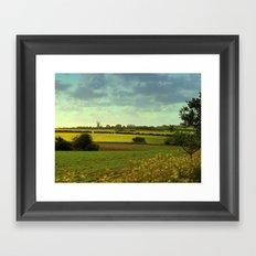 Norfolk Countryside (UK) Framed Art Print