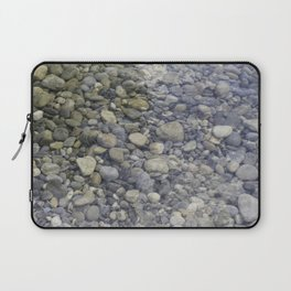 River + rocks Laptop Sleeve