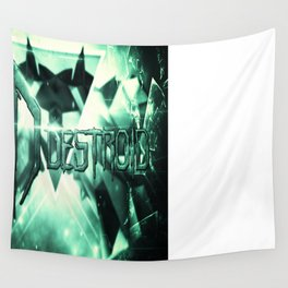 Destroid Poster Wall Tapestry