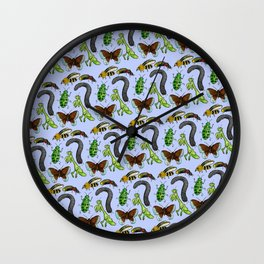 Insect Skin Wall Clock