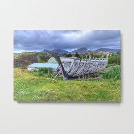 Flodabay, Isle of Harris Metal Print