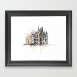 Duomo di Milano. Framed Art Print