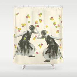 Dance : Gemini Shower Curtain