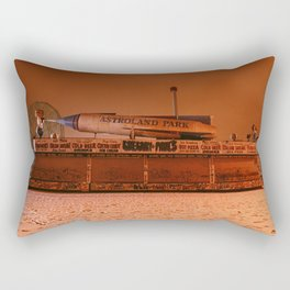 Coney Island - Gregory & Pauls in the winter Rectangular Pillow