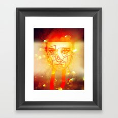 The Girl UnWound Framed Art Print