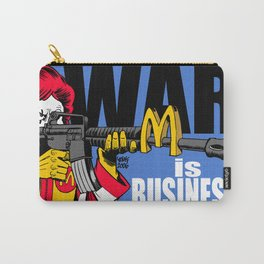 McWar - War is Business - Anti Capitalism Artwork Carry-All Pouch