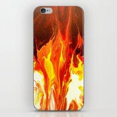 Fire - Modern Art  iPhone & iPod Skin
