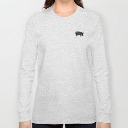Pork ribs food tee Long Sleeve T-shirt