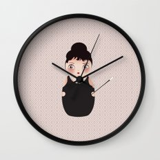KOKESHI-BREAKFAST Wall Clock