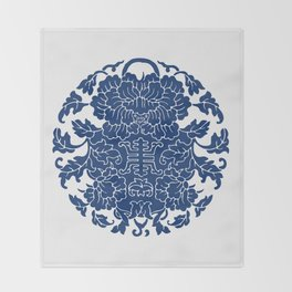 WanShouWen Throw Blanket