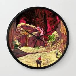 Kong Island Wall Clock