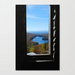 Kettle Pond Foliage - Vermont Canvas Print
