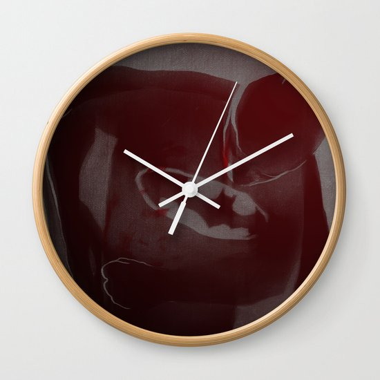 batmaninjured Wall Clock