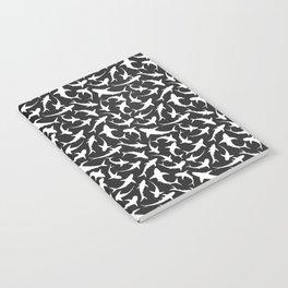 Sharks (inverted) Notebook