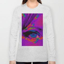 Debbie Purple Long Sleeve T-shirt