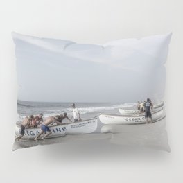 Beach Patrol, Jersey Shore Pillow Sham
