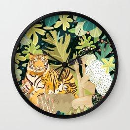 Tiger Sighting Wall Clock