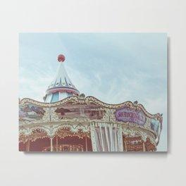 Pier 39 Carousel - San Francisco Metal Print