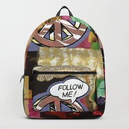 pop art Virgin Mother Backpack