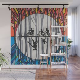 Stranger World Things Wall Mural