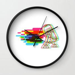 Technicolor R2D2 Wall Clock