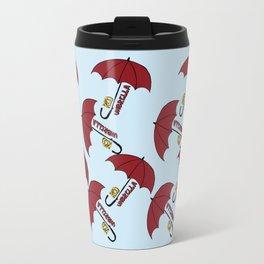 Red umbrella Travel Mug