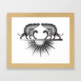 Midnight Sun Framed Art Print