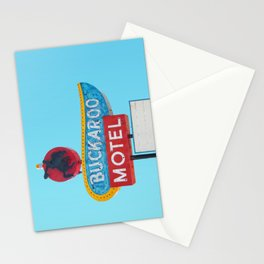Buckaroo Motel Stationery Cards