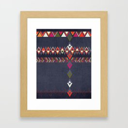 Tribal Pattern 25 Framed Art Print