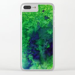 Abstract No. 33 Clear iPhone Case