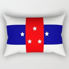 Flag of the Netherlands Antilles Rectangular Pillow