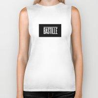 bastille Biker Tanks featuring BASTILLE by AWMAX
