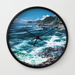 Oregon Coast Wall Clock