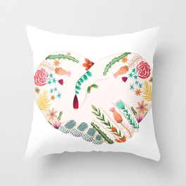 Unity Hands Throw Pillow