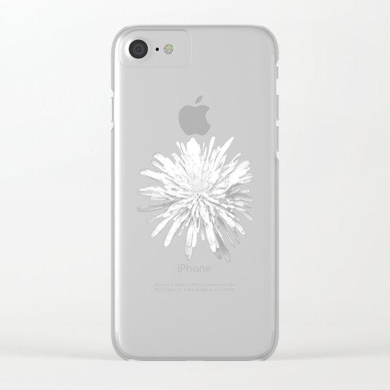 Dandelion Clear iPhone Case
