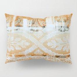needlepoint sampler in sunny rays Pillow Sham