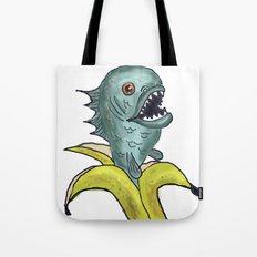 piranha banana Tote Bag