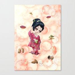 Omiyage régionaux - Regional omiyage Canvas Print