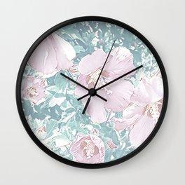 Floral Joy 3192B Wall Clock