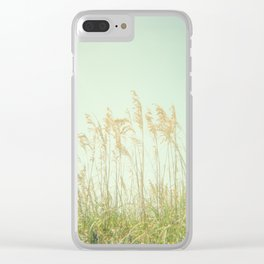 Sea Oats Clear iPhone Case